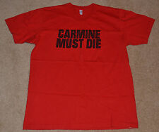 NEW!! GEARS OF WAR 3 Carmine Must Die T-Shirt Red Large GOW L 2011 Crimson OMEN