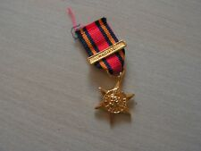 MEDAILLE miniature the burma star avec agrafe 1939  1945 (ref 6000)