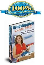 ebook Dropshipping Made Easy Pdf With Master Resell Rights Free Shipping
