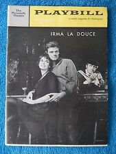 Irma La Douce - Plymouth Theatre Playbill - January 9th, 1961 - Elizabeth Seal