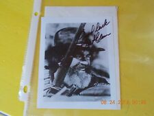 JACK ELAM SIGNED PHOTOGRAPH WITH ENVELOPE