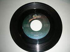 Heart - Tell It Like It Is / Strange Euphoria  45 rpm  Epic Records  NM 1980