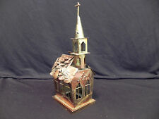 Rare Vintage Church Music Box ~ British Crown Colony ~ Hong Kong w/tag ~ copper