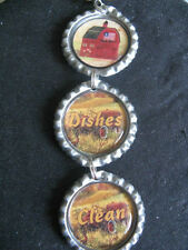"""Red Barn Country Living """"Handmade""""  Dishwasher Clean/Dirty Ornament ~ Gift Idea"""