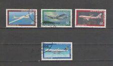 P5224 - GERMANIA 1980 - SERIE SOVRAPREZZO BENEFICENZA - N. 888/91 - AVIAZIONE
