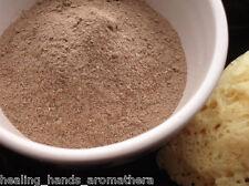 Pure Organic Rhassoul or Ghassoul Mineral Clay Powder - 100g bag