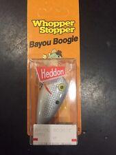 Heddon Original Whopper Stopper Bayou Boogie W6501 Gray Shad