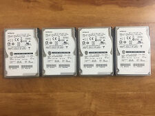 Lot of (4) Hitachi Ultrastar HUC106045CSS600 450GB 10k 2.5 inch SAS HDD 0B25095