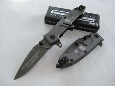 USA EXTREMA RATIO MF2 Messer-Edelstahl-Säbel-graues taktisches Werkzeug Geschenk