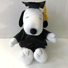 "Hallmark Peanuts Snoopy Graduation Plush Toy Collectible13"""
