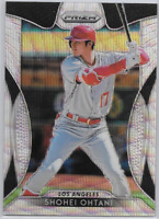 SHOHEI OHTANI - 2019 Panini Prizm BLUE WAVE SP #'d 38/60 Los Angeles Angels