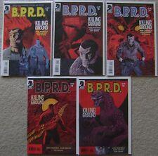 B.P.R.D The Killing Ground #1-5 Dark Horse Comics (5) Complete Set 2007 VF to NM