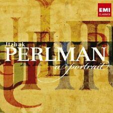 ITZHAK/PERLMAN - A PORTRAIT  2 CD  30 TRACKS  BACH/BRUCH/BRAHMS/BEETHOVEN/+ NEU