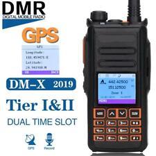 Baofeng DM-X GPS Walkie Talkie UHF VHF Dual Band Two Way Radio Transceiver