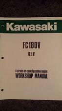 Kawasaki Fc180V Overhead Valve Air Cooled 4-Stroke Engine Work Shop Manual Nice!