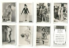 More details for bat1939 set m36 modern beauties 4th series charming stars & starlets  (f13)