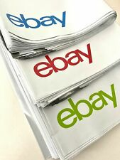 "eBay Branded Polymailer With Blue Green and Red Print 10"" x 12.5"" (No padding)"