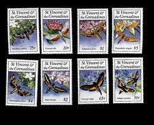 St. Vincent& The Grenadines 1993 Butterflies Moth  Scott# 1856-1863