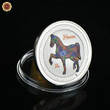WR Chinese Year Of The Horse Lunar Series  999 Silver Coin Zodiac Gifts For Girl