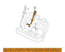 Chevrolet GM OEM 05-09 Equinox Rear Seat Belt-Center Middle 89022937