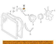 TOYOTA OEM 00-06 Tundra 4.7L-V8 Cooling Fan-Lower Shroud Clip 9046806092