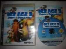 ICE Age 3 amanecer de la original de dinosaurio Reino Unido PS3 Juego