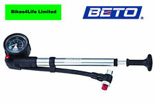 BETO PRECISION SHOCK PUMP 300 PSI 20 BAR MOUNTAIN BIKE SUSPENSION FORK CYCLE