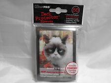 PACK OF 50 GRUMPY CAT ULTRA PRO SLEEVES / DECK PROTECTORS