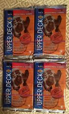 1993-94 Upper Deck NBA Basketball Series One 4 New Hobby Packs!!