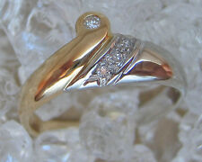 Like it ♡ Diamant Ring in aus 585 Gold Ring mit Brillanten Brillant with Diamond