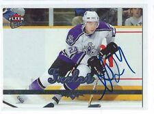 Alexander Frolov Signed 2005/06 Fleer Ultra Card #97
