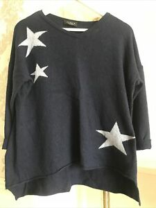 ✨ LUELLA Cashmere Blend Star Jumper ✨ Size M ✨✨