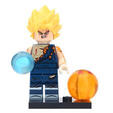 Vegeto - Dragon Ball Z Lego DYI Minifigure Gift For Kids New & Sealed [Hurt]