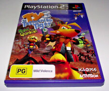 Ty the Tasmanian Tiger 3 Night of the Quinkan PS2 PAL *Complete*