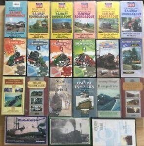 Train VHS Videos - Railway Roundabout, Eastern & Western Regions, Steam on 35mm