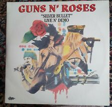 GUNS N' ROSES - SILVER BULLET LIVE AND DEMO - LP ITALY 1992 EX/EX