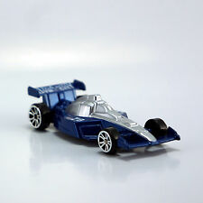 Die Cast Vehicle Model Car 1/64 Scale Collection F1 Racer Blue