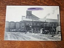 WW1 1917, FRANCE 62 RAILWAY,  BRUAY EN ARTOIS CPA DAMBRINE-PIN, passed by censor