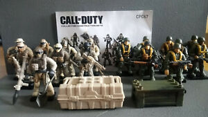 Mega Bloks Call of Duty Legacy Heroes  set CPC67 , 100% complete from 2015