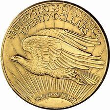 USA 20 Dollars St Gaudens Double Eagle 1908 bis 1932 geprägte Gold Anlagemünze
