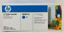 HP Color LaserJet Q6001A Cyan Print Cartridge --  New & Sealed