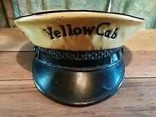 Vintage Yellow Cab Hat