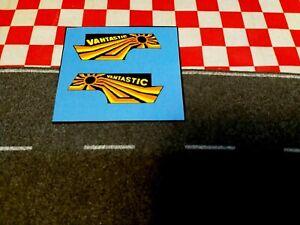Corgi Juniors US Van + Chevrolet Van Vantastic, Set of Stickers only  NO VAN