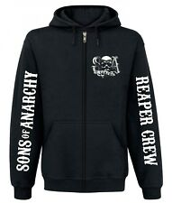 Sons of Anarchy Reaper Crew Zipper Hoodie, Herren Kapuzenjacke