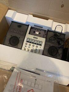 Korg CR-4 Cassette Deck Recorder 4-Track Boxed