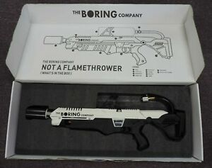 The Boring Company Not A Flamethrower in Box Serial No. 03587