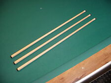 THREE (3) WOBBLE SHAFTS 5/16x14 FITS JOSS SCHON cue billiards pool 812-16