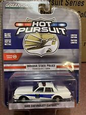 Greenlight Hot Pursuit  1986 Chevrolet Caprice Indiana State  Police