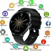 2020 Touch Smart Watch Women Men Heart Rate Monitor For Android iOS Waterproof