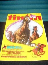 tintin 15 / 33 Journal / Belgische Comic -  Wochenzeitschrift in Frz. Zust. 1